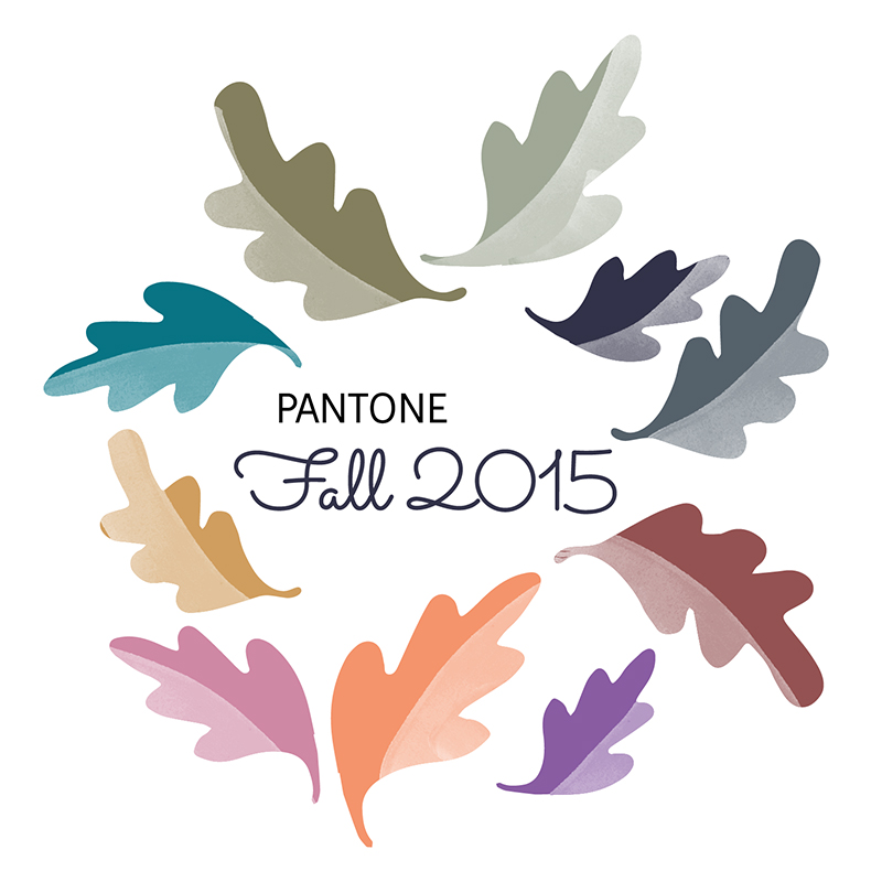 Juju Sprinkles Pantone Fall 2015 Colors 800x800
