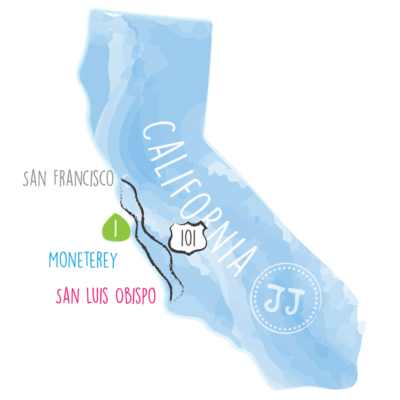 Juju Sprinkles Sister Road Trip Map