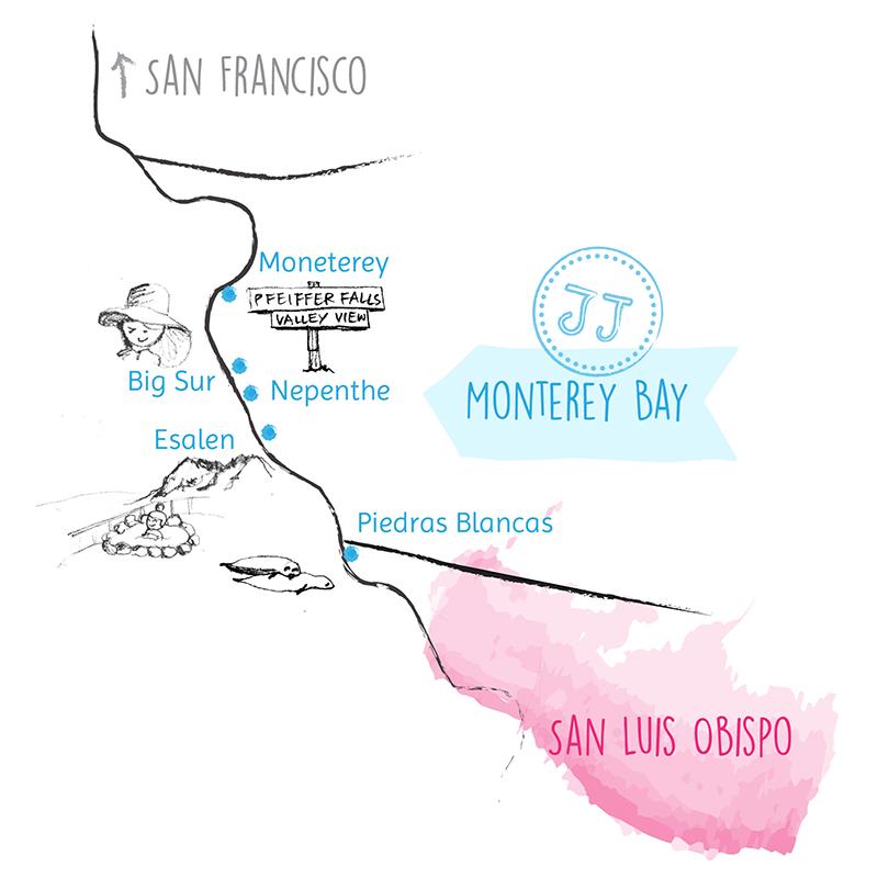 Juju Sprinkles Sister Road Trip Moneterey