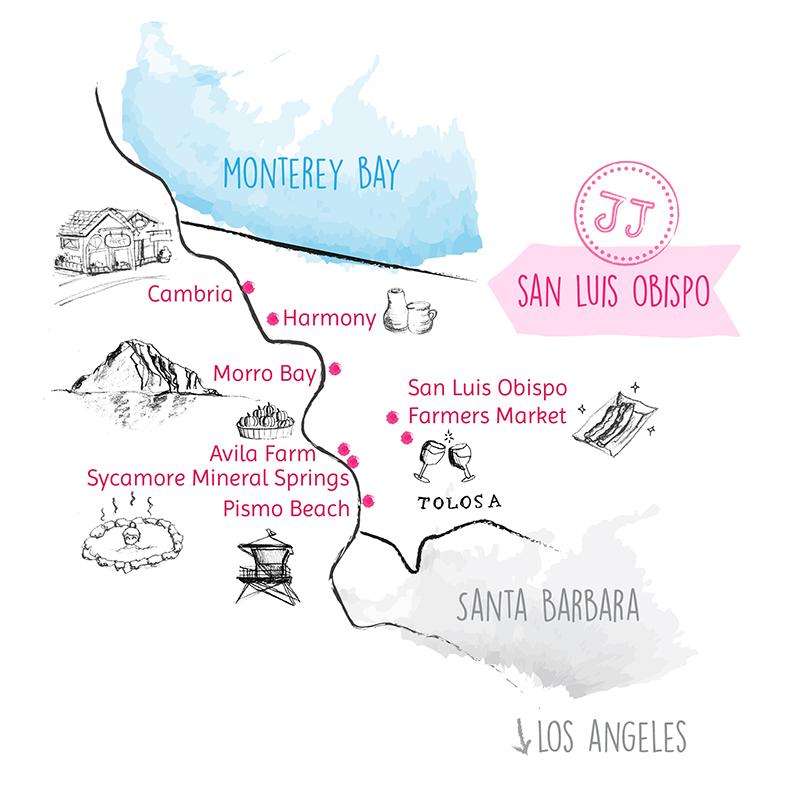 Juju Sprinkles Sister Road Trip San Luis Obispo