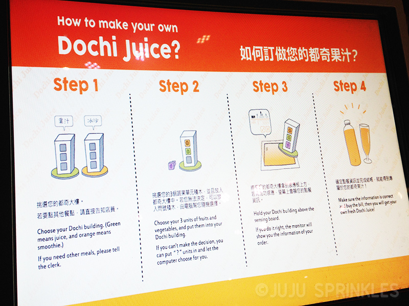 Farm To Table Dochi Juice Steps Juju Sprinkles