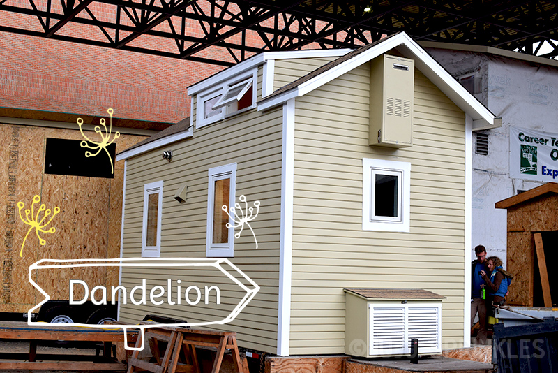 Juju Sprinkles Extreme KonMari Tiny House Dandelion