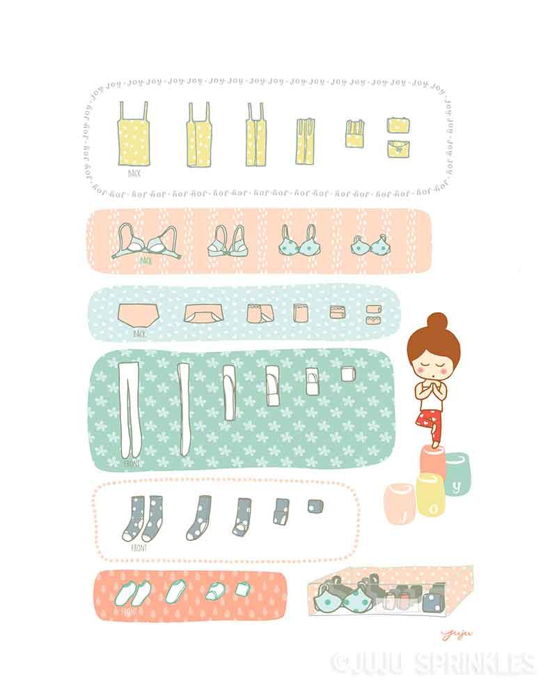 Joyful Folding Digital Set – Bonus Coloring Page – Juju Sprinkles
