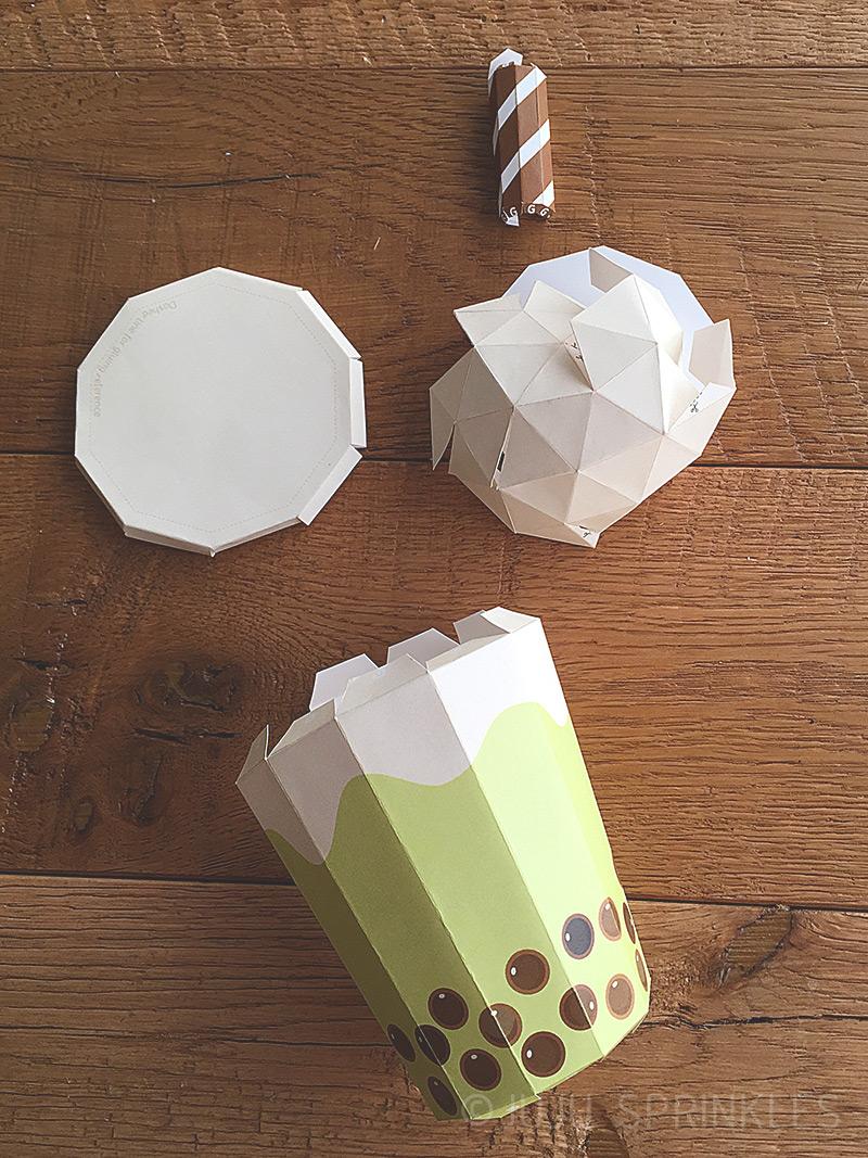 Pin em 3d origami anleitung | 1067x800