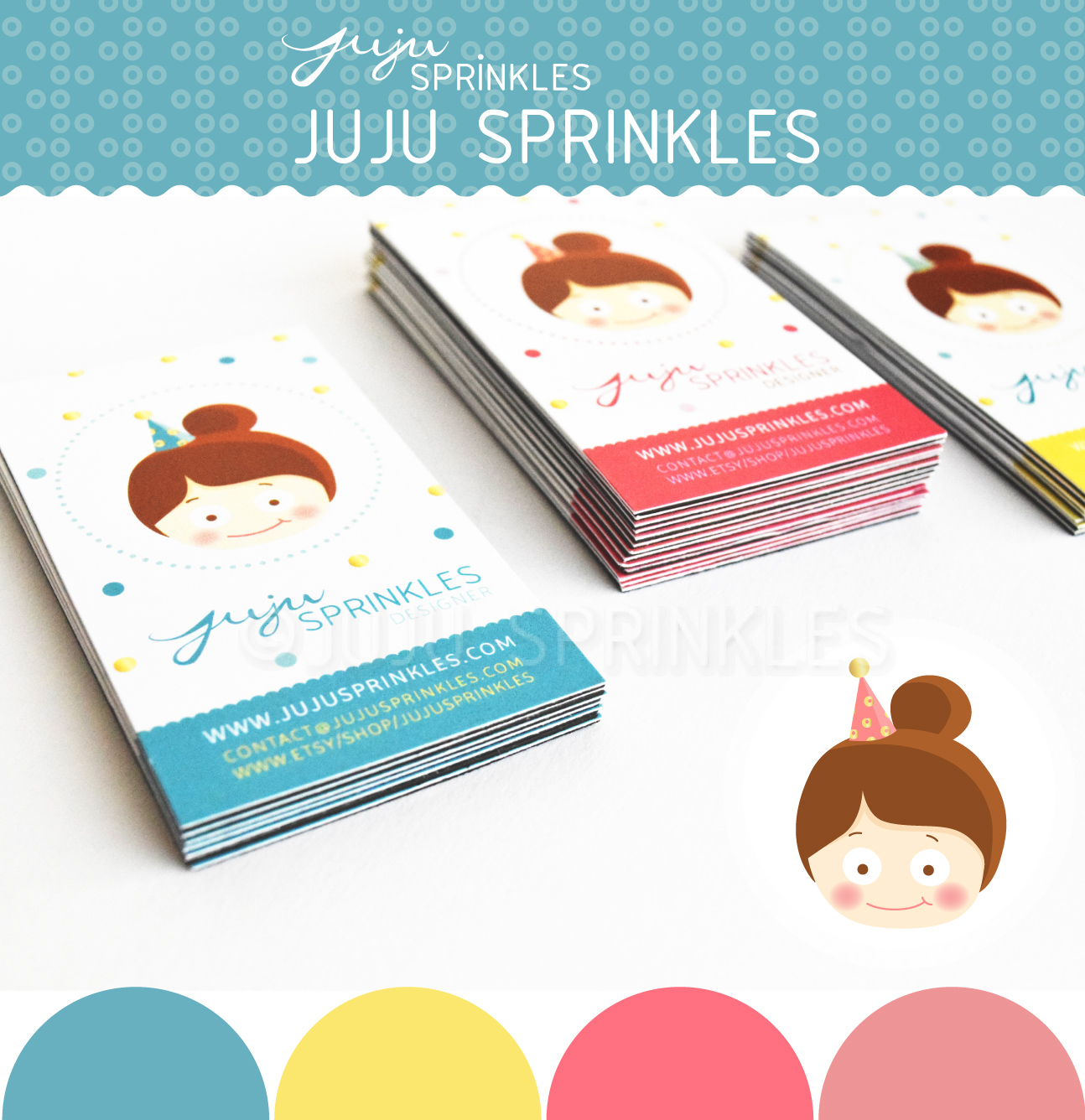Diy business card magnets juju sprinkles to make this business card magnet you will need colourmoves