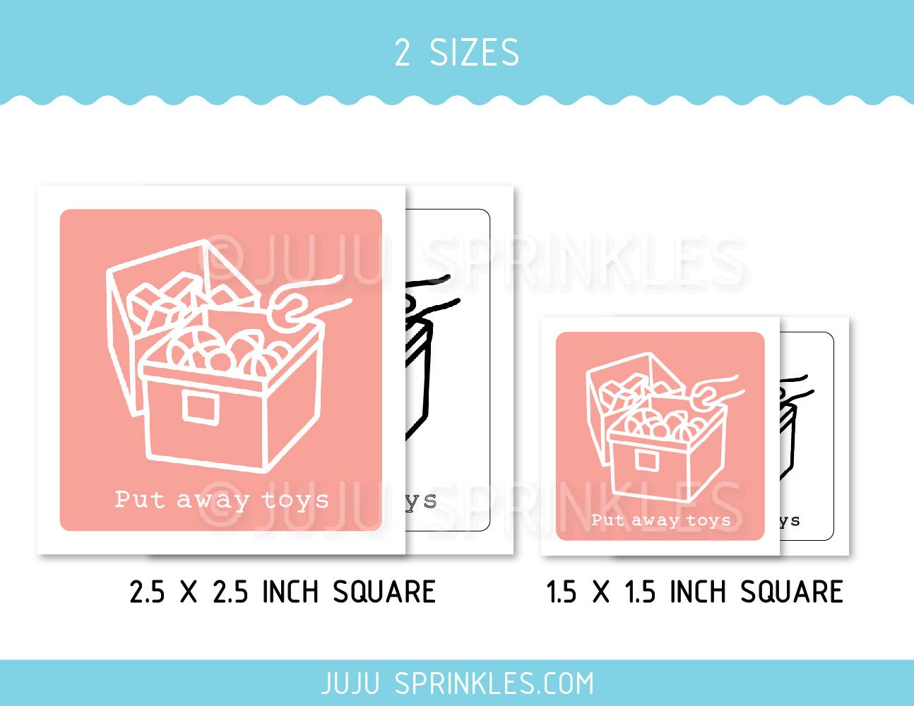 daily kids chore labels printable juju sprinkles