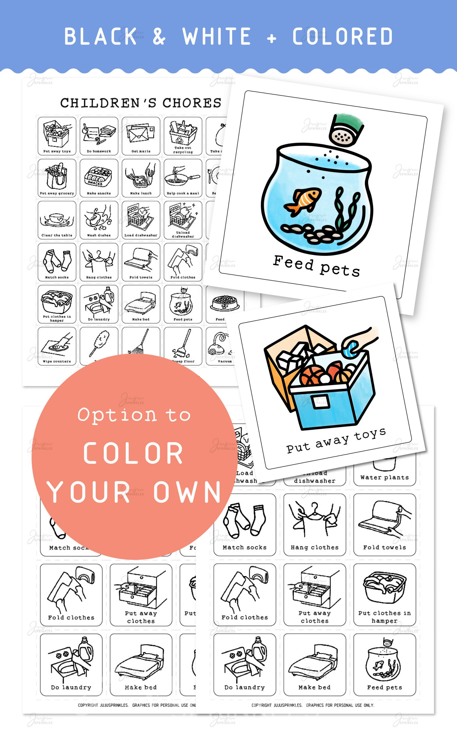28+ Collection of Kids Doing Chores Clipart Black And White ... | 2560x1573