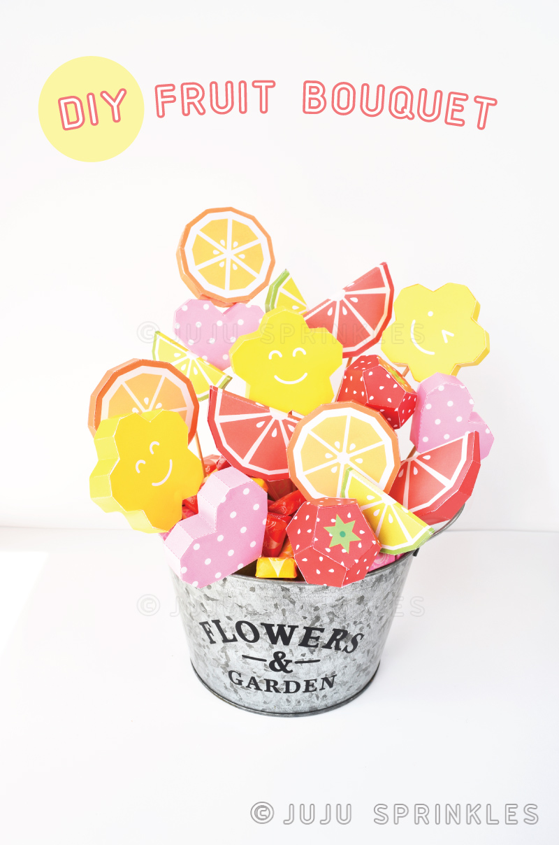 How To Make A 100 Fruit Bouquet Under 20 Juju Sprinkles